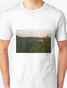 Natural Bridge Sunrise Unisex T-Shirt