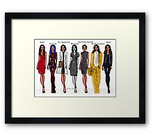 Amy Acker characters Framed Print