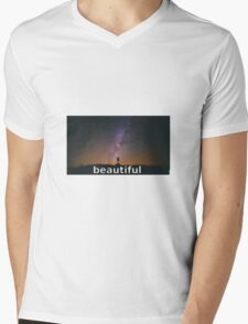 Beautiful star Mens V-Neck T-Shirt