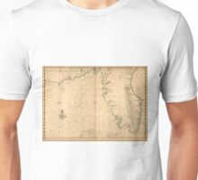 Vintage Map of Florida (1639) Unisex T-Shirt