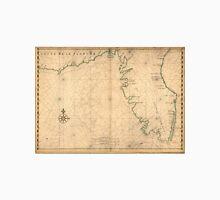 Vintage Map of Florida (1639) Unisex T-Shirt
