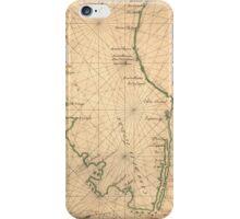 Vintage Map of Florida (1639) iPhone Case/Skin