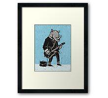 Corporate Rock Framed Print