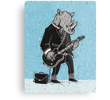 Corporate Rock Metal Print