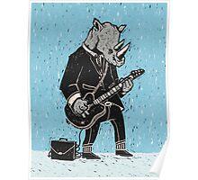 Corporate Rock Poster