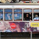 Tram in Lisbon by Igor Shrayer