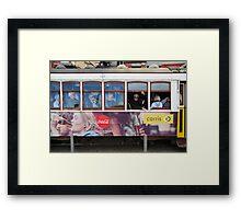 Tram in Lisbon Framed Print