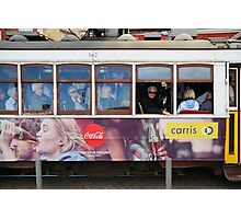 Tram in Lisbon Photographic Print