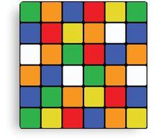 Multi Cube Canvas Print
