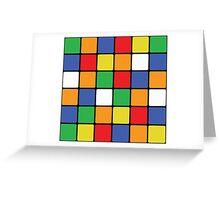 Multi Cube Greeting Card
