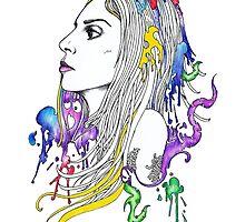 Lady Gaga by Anthony McCracken