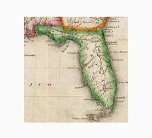 Vintage Map of Florida (1822) Unisex T-Shirt