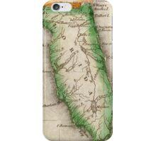Vintage Map of Florida (1822) iPhone Case/Skin