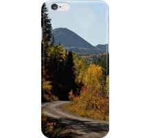 Autumn in the mountain West iPhone Case/Skin