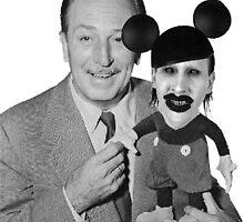 Walt Disney Mickey Marilyn Manson by metaminas