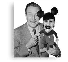 Walt Disney Mickey Marilyn Manson Canvas Print