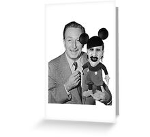 Walt Disney Mickey Marilyn Manson Greeting Card