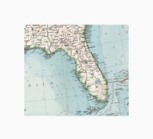 Vintage Map of Florida (1900) Unisex T-Shirt
