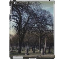 October Graveyard  iPad Case/Skin
