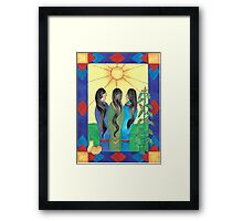 Three Sisters IV Framed Print