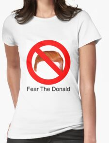 Fear The Donald Womens Fitted T-Shirt