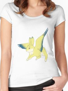 Flying Bunny Women's Fitted Scoop T-Shirt