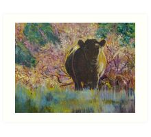 Bovine Beauty Art Print