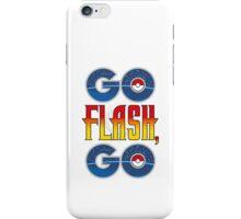 (POKÉMON MASH UP) GO FLASH, GO iPhone Case/Skin