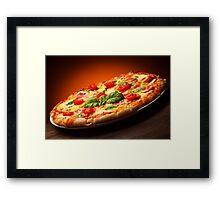 Italian Pizza Framed Print