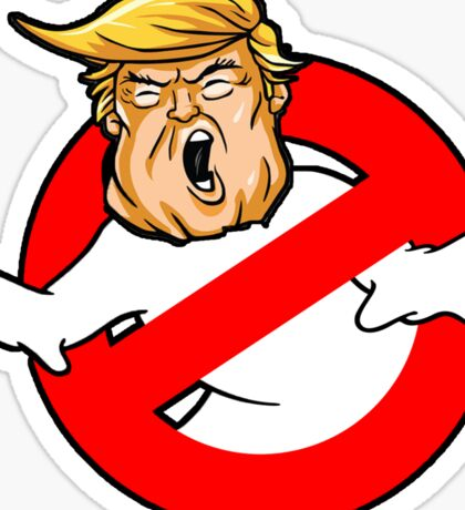 Trump busters Eeeek Sticker