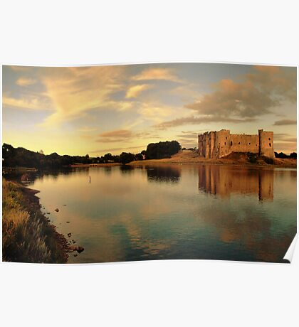 Carew Castle and Bridge Poster