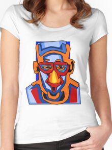 Face expression5 Women's Fitted Scoop T-Shirt