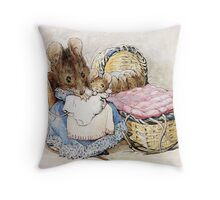 Beatrix Potter Mother Mouse Throw Pillow