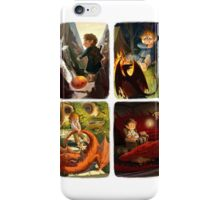 Bilbo and Smaug Jr iPhone Case/Skin