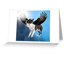 Bené Flying Greeting Card