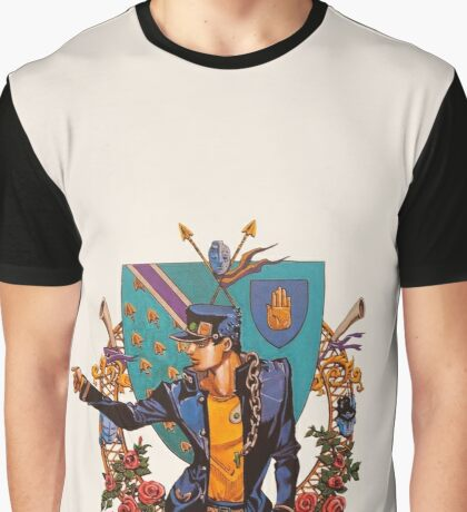 Jotaro Kujo Graphic T-Shirt