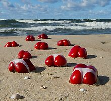 On the beach by JBlaminsky