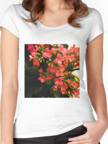 Orange Glow Women's Fitted Scoop T-Shirt