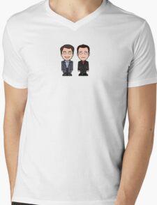 Jack and Ianto (shirt) Mens V-Neck T-Shirt