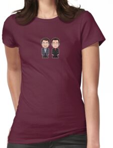 Jack and Ianto (shirt) Womens Fitted T-Shirt