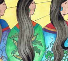 Three Sisters III Sticker