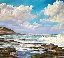 'Shelley Beach' - Apollo Bay by Lynda Robinson