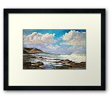 'Shelley Beach' - Apollo Bay Framed Print