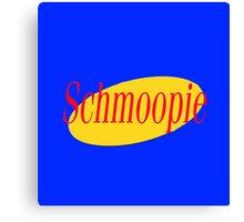 Seinfeld Schmoopie Canvas Print