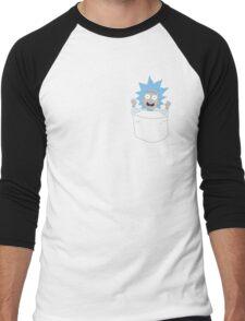Tiny Rick Pocket Tee Men's Baseball ¾ T-Shirt