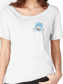 Tiny Rick Pocket Tee Women's Relaxed Fit T-Shirt