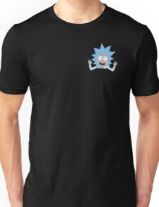 Tiny Rick Pocket Tee Unisex T-Shirt