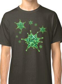 Ukulele Aquisition Syndrome Virus - Green Classic T-Shirt