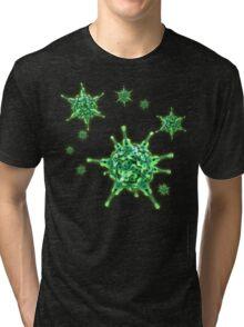 Ukulele Aquisition Syndrome Virus - Green Tri-blend T-Shirt