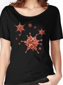 Ukulele Acquisition Syndrome Virus - Red Women's Relaxed Fit T-Shirt
